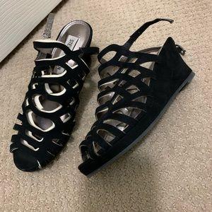 Girls Steve Madden wedge sandals